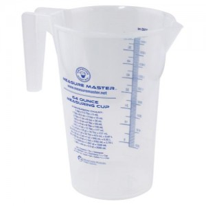 Graduated Round Container 64 oz per 2000 ml 20perCs