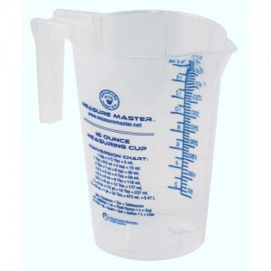 Graduated Round Container 16 oz per 500 ml 40perCs
