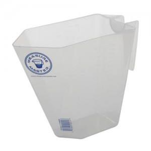 Graduated Rectangle Container 64 ozper2000 ml