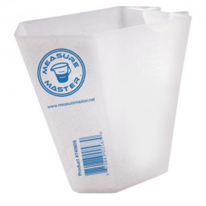 Graduated Rectangle Container 16 ozper500 ml