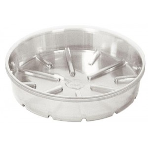 Bond Clear Plastic Saucer 12 in 25perBag