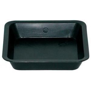 Gro Pro Black Square Saucer for 1 Gallon Pot 120perCs