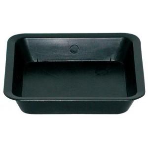 Gro Pro Black Square Saucer for 1per2 Gallon Pot 100perCs