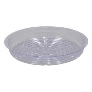 Gro Pro Premium Clear Plastic Saucer 10 in 50perCs