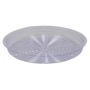 Gro Pro Premium Clear Plastic Saucer 12 in 50perCs