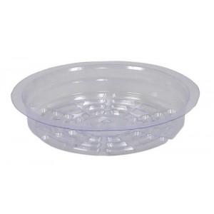 Gro Pro Premium Clear Plastic Saucer 6 in 50perCs
