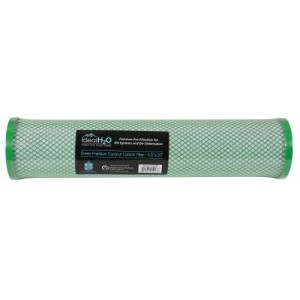 Ideal H2O Premium Green Coconut Carbon Filter  4.5 in x 20 in