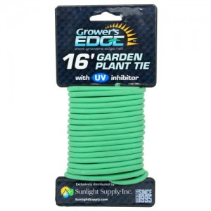 Grower's Edge Soft Garden Plant Tie 5mm  16 ft 20perCs