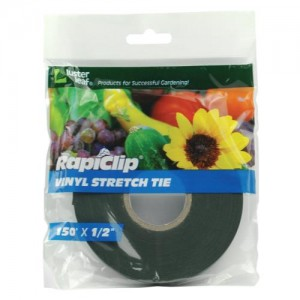 Luster Leaf Rapiclip Vinyl Stretch Tie 0.5 in 12perCs