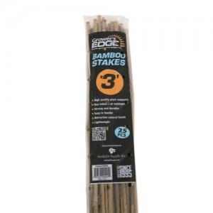 Grower's Edge Natural Bamboo 3 ft  25perBag 20 BagsperBundle