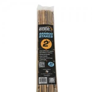 Grower's Edge Natural Bamboo 2 ft  25perBag 20 BagsperBundle