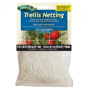 Gardeneer Trellis Netting 5 ft x 30 ft wper 7 in Holes 12perCs