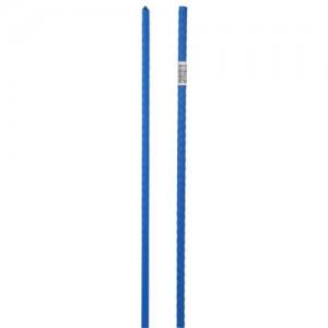 Grower's Edge Deluxe Steel Stakes 7per16 in Diameter 6 ft  Blue 20perCs