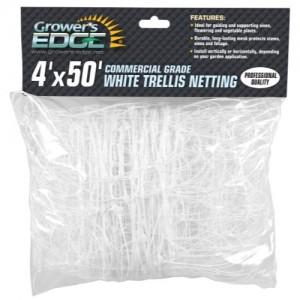 Grower's Edge Commercial Grade Trellis Netting 4 ft x 50 ft 10perCs