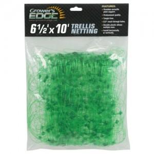 Grower's Edge Green Trellis Netting 6.5 ft x 10 ft 24perCs