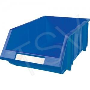 """Stack & Hang Bin Colour: Blue Capacity: 100 lbs. Outside Width: 11-13/16"""" Outside Depth: 17-11/16"""""""