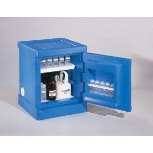 """Poly Corrosive Cabinet - 4 Gallon, 18 x 18 x 22"""""""