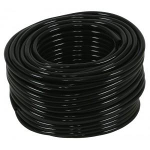 Hydro Flow Vinyl Tubing Black 1per8 in ID   1per4 in OD 100 ft Roll
