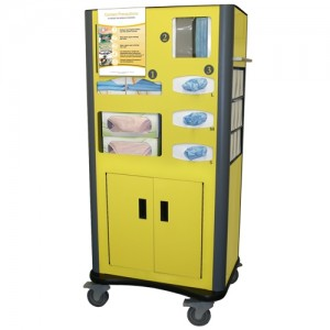 Mobile Dispensing Unit with Casters
