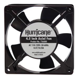 Hurricane Axial Fan 4.5 in 112 CFM