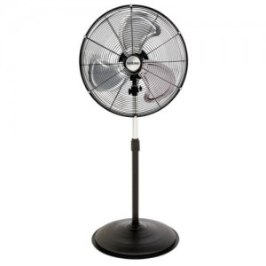 Hurricane Pro High Velocity Oscillating Metal Stand Fan 20 in