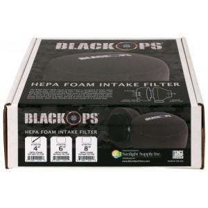 Black Ops HEPA Foam Intake Filter 4 in 6perCs