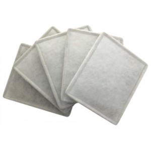 Can Fan Replacement Intake Filter 4 in   6 in   5perCs