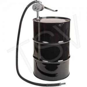 Rotary Lobe Type Drum Pump Pump Material: Aluminum & Steel