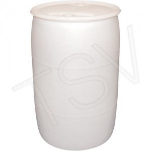 Polyethylene Drums Drum Size: 55 US gal (45 imp. gal.) Lined/Unlined: Unlined Colour: Natural Open Top/Closed Top: Closed Top