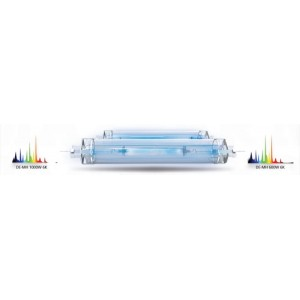 MaxPar Double Ended Metal Halide Lamp 1000W 6K with Outer Sleeve, Double Jacket; 4 per case