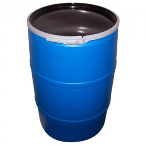 55 Gallon Barrel w per Lid   Food Grade