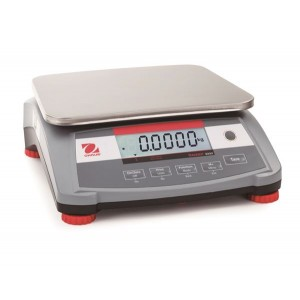 "Ohaus Ranger 3000 Compact Digital Counting Scale 6lb x 0.0001lb 11-13/16"" x 8-7/8"""