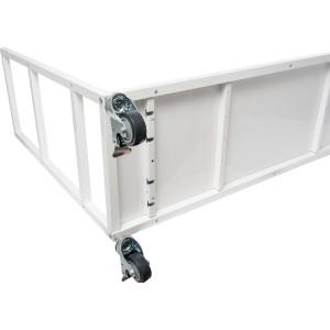 Vertical Grow Shelf System - 3 Shelves w/ Casters