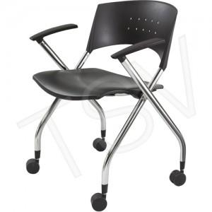"XTC. TM Folding Chair, Premium, Plastic, 250lbs, 30.5"""