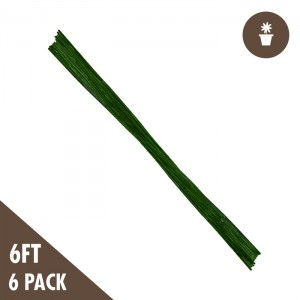 6' Green Bamboo Stakes Heavy Duty (6-pack)