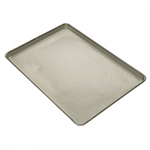 "Full Size Sheet Pan, 3/32"" Square Perforations All Over"