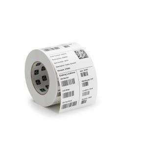 ZEBRA LABEL, PAPER, 4 X 6IN, DIRECT THERMAL, Z-PERFORM 1000D, 3 IN CORE, 4 ROLLS/CARTON, PRICED PER CARTON