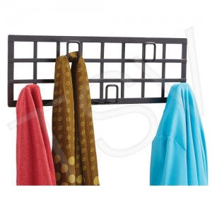 Safco ® Grid Coat Rack, Steel