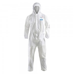 Heavy-Weight Microporous Coverall, Hood, Elastic Ankles and Sleeves, 25 / Case