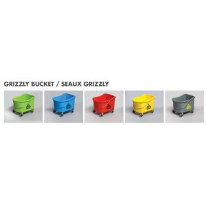 32qt Grizzly Bucket Only - Black Pack of 1       Price Per    EA