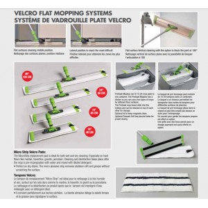 "24"" Slide n Lock Velcro Mopping Frame"
