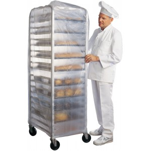 Bakers Rack Cover Double 50x24x80 24ea/rl CFIA Poly