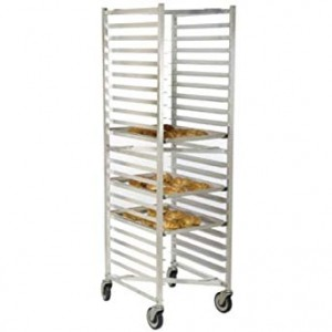 "12 Sheet Pan Rack w/ 5"" Bottom Load Slides"