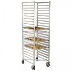 "20 Sheet Pan Rack w/ 3"" Bottom Load Slides"