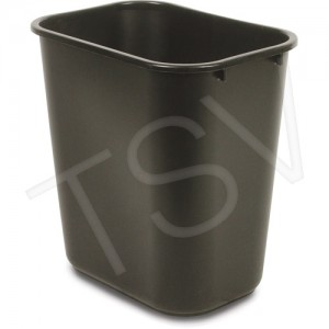Rubbermaid Soft Wastebaskets Capacity: 28 qt. Material: Plastic