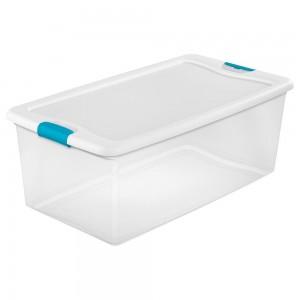 106 Qt. Latching Storage Box