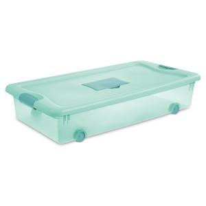 Sterilite, 56 Qt./53 L Wheeled Fresh Scent Box, Case of 4