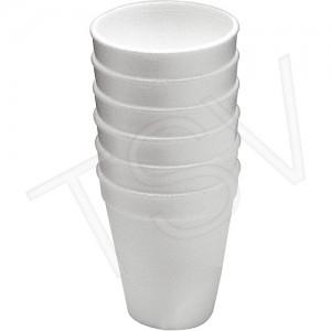 Styrofoam Cups Capacity: 9 oz.