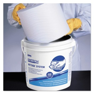 Kimtech Wet Task Dry Wipes for Solvents