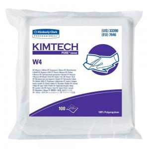 Kimtech Pure* W4 Dry Wipes, 100 Wipes